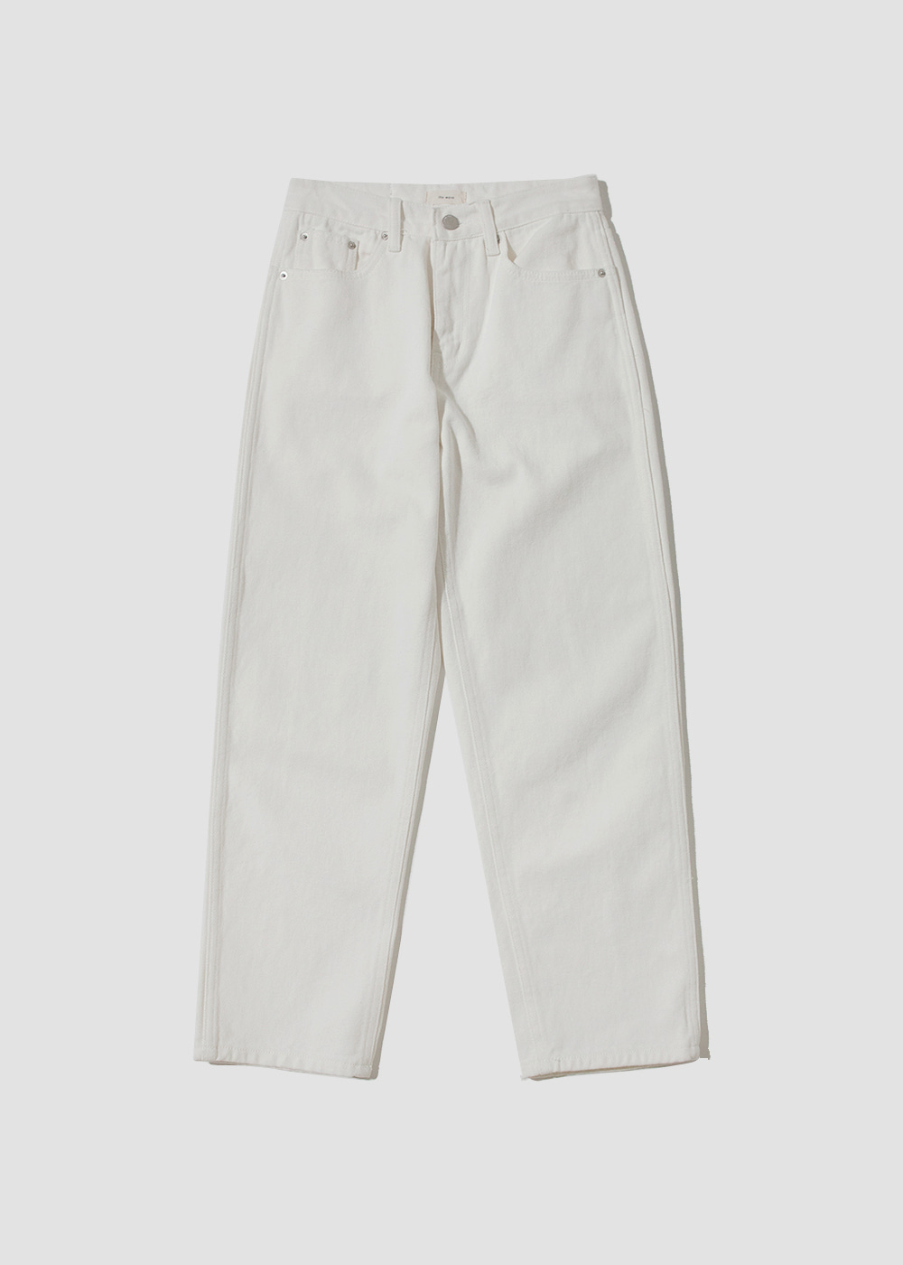 [THE WAVE] Wave White Pants