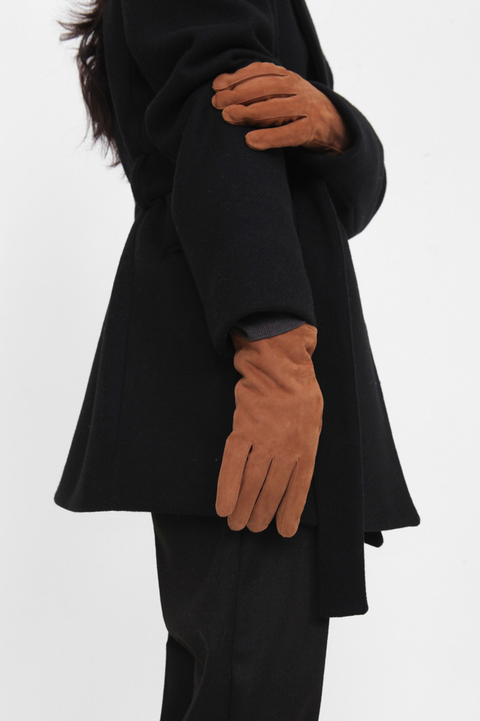 19 FW Suede gloves (WOMAN)