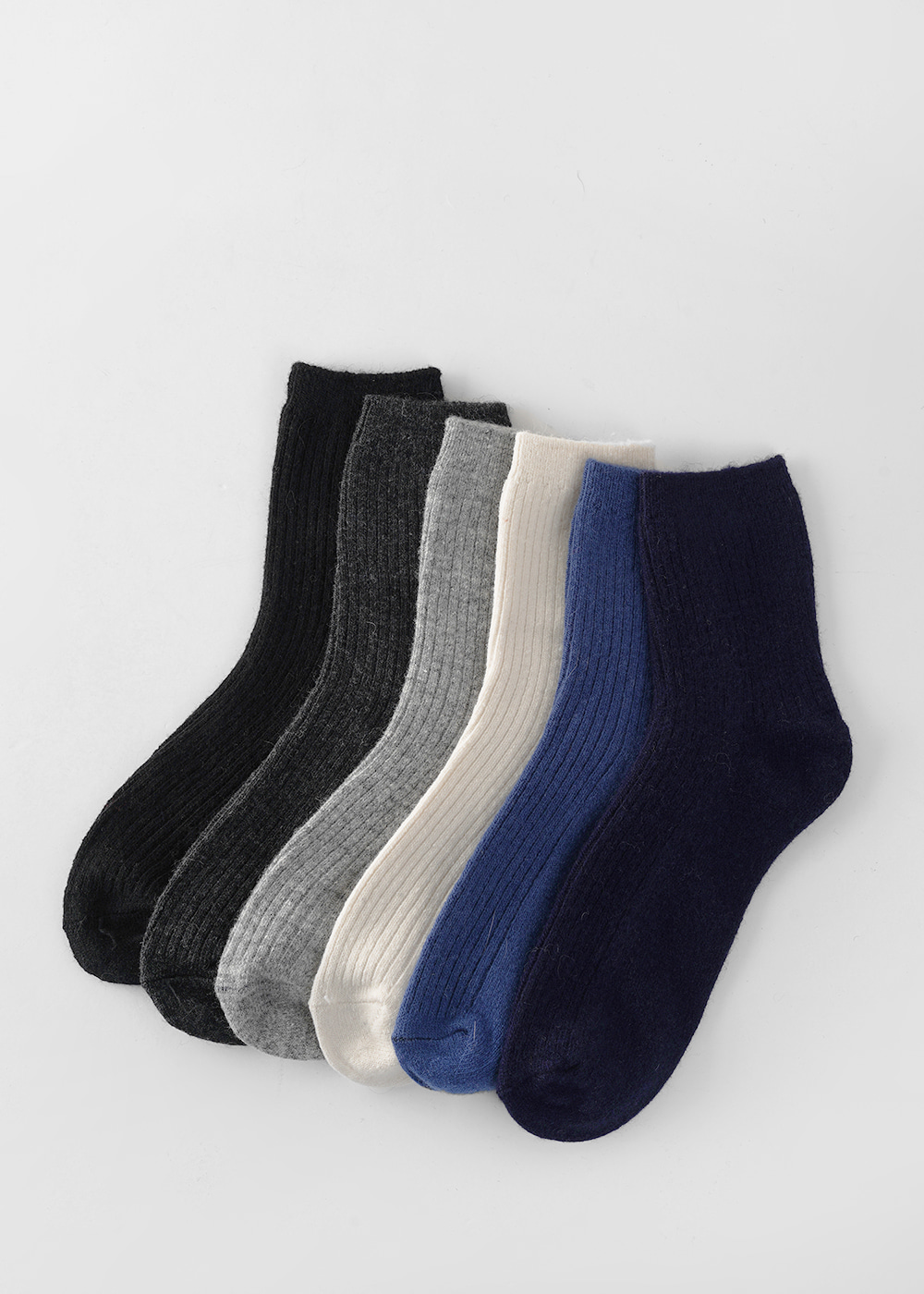 20FW Color wool socks