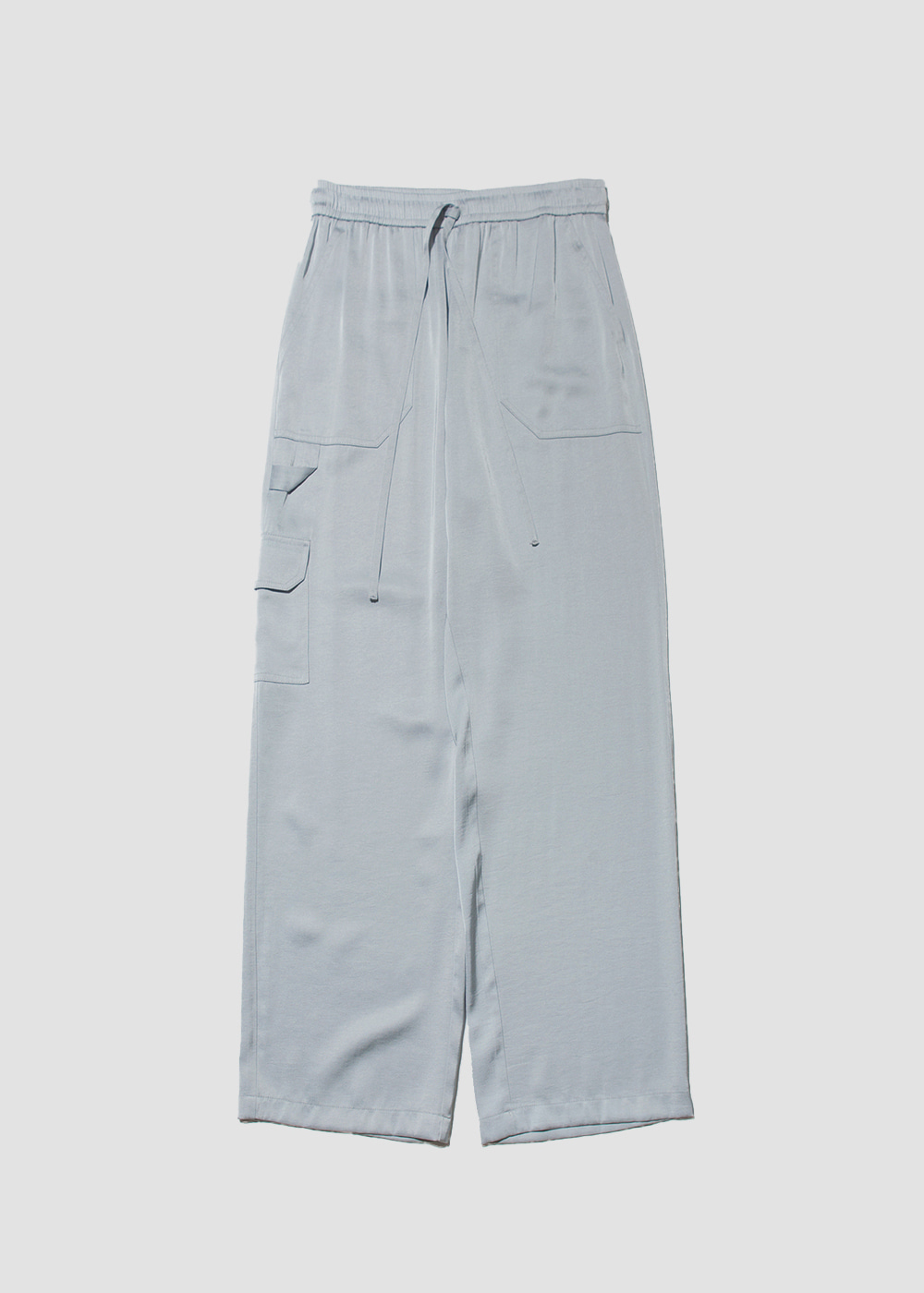 [MARAN] Satin fatigue pants