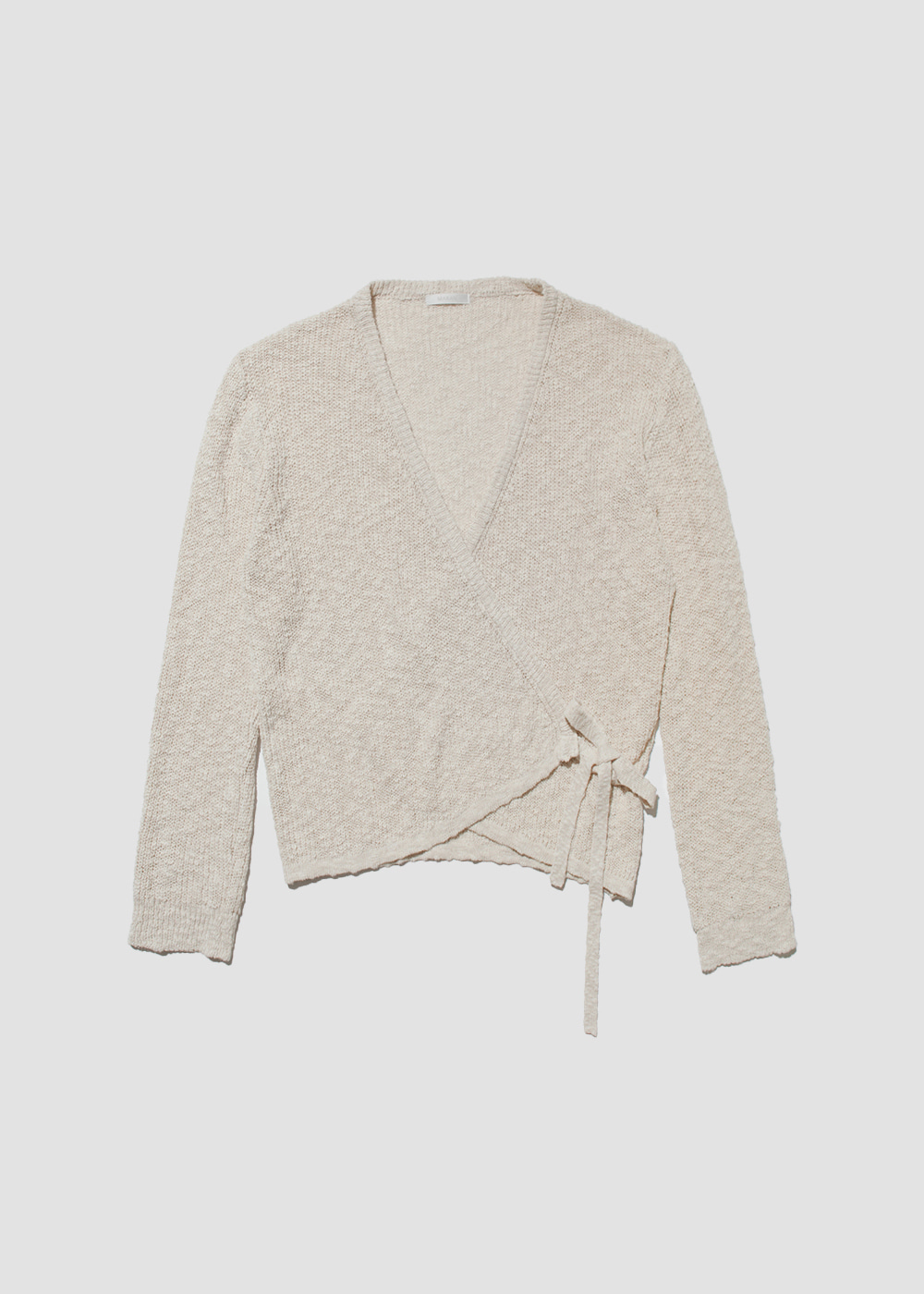 [MARAN] V-neck wrap cardigan